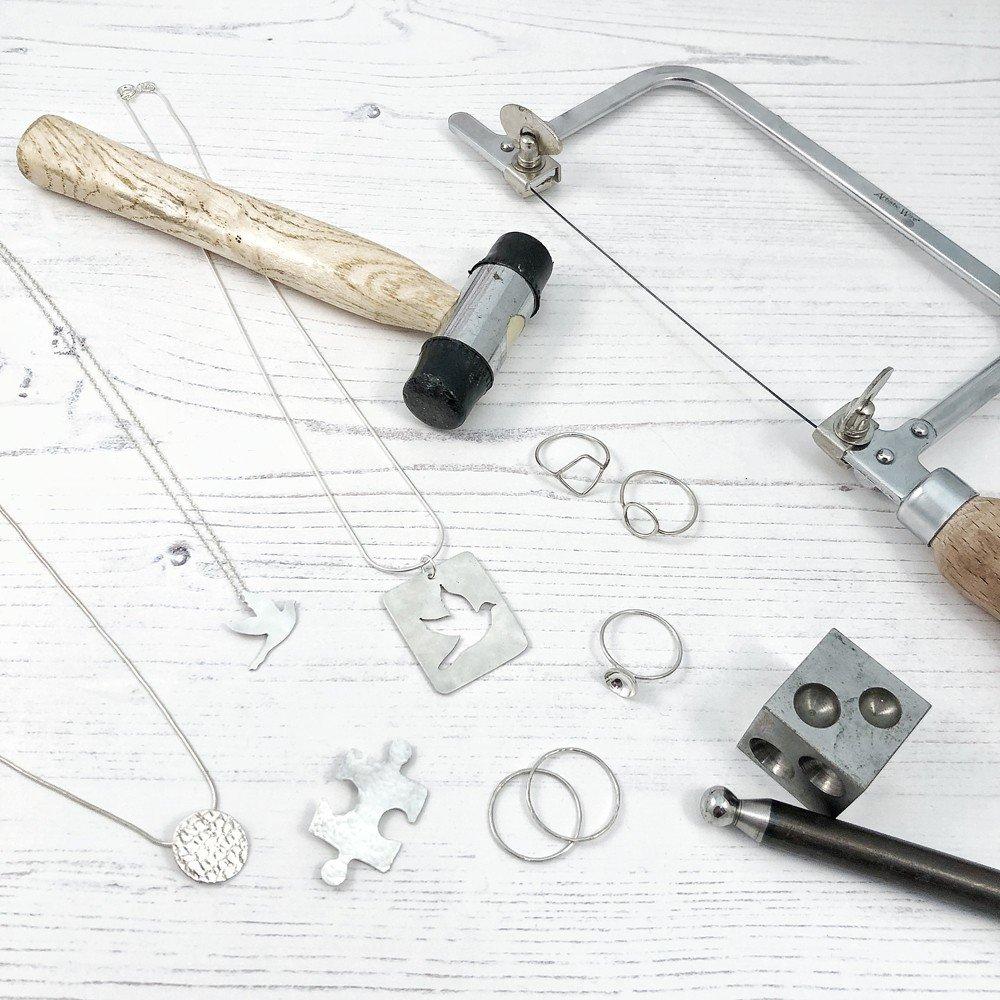 5 week beginners silver smithing jewellery making class