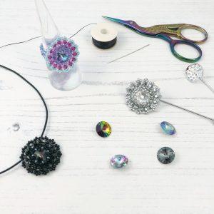 Beaded Bezel Jewellery