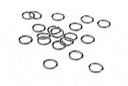 5mm Jump Ring Black Plated