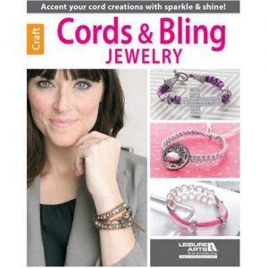 Cords & Bling Jewelry by Leisure Arts