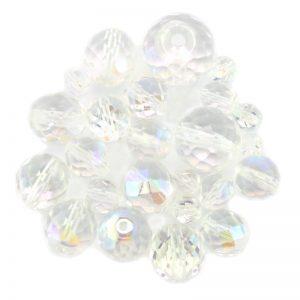 Preciosa crystal ab glass bead mix