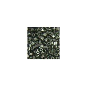 Miyuki Delicas Size 15 DBS010C Opaque Black *