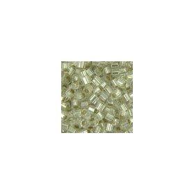 Miyuki Delicas Size 15 DBS041C Silver Lined Crystal *