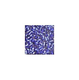 Miyuki Delicas Size 15 DBS047 Silver Lined Dark Sapphire *