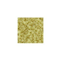 Miyuki Delicas Size 15 DBS883 Matte Opaque Cream *
