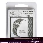 Deco Noir Bracelet kit - Peyote Stitch