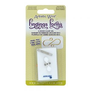Artistic Wire Findings Form - S-Hook Clasp Jig
