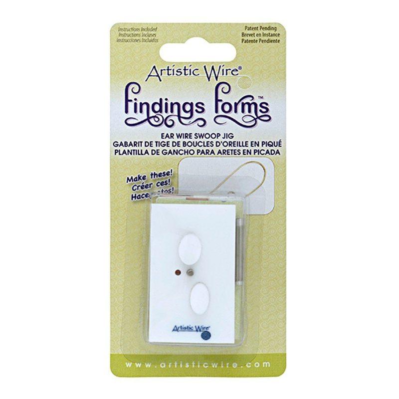Artistic Wire Findings Form - Ear Wire Swoop Jig