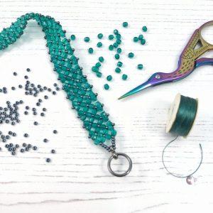 Flat Chenille Stitch Bracelet