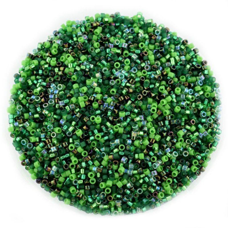 Miyuki Delica Mix Forest Green