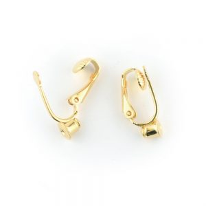 Ear Clip Earstud Converter Gold Plated