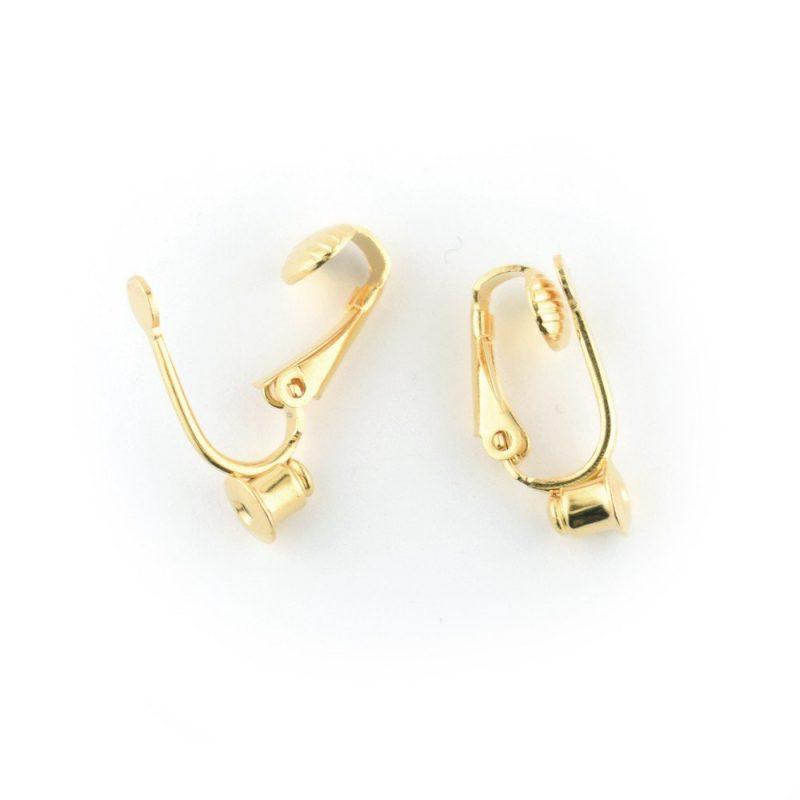 Ear Clip Earstud Converter Gold Plated