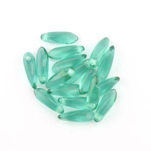 3mm Teardrop Beads 7300 Emerald*