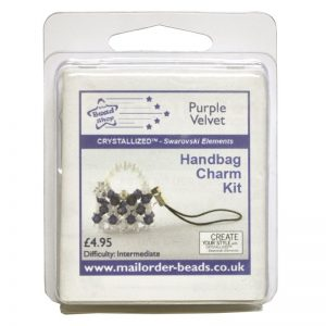 Handbag Charm Kit Purple Velvet