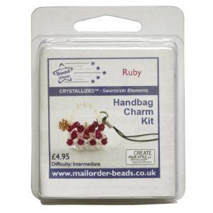 Handbag Charm Kit Ruby