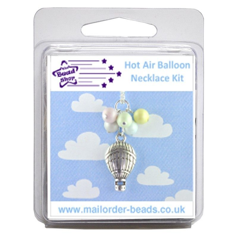 Hot Air Balloon Necklace Kit