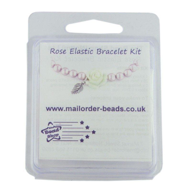 Ivory & Powder Rose Bracelet Kit