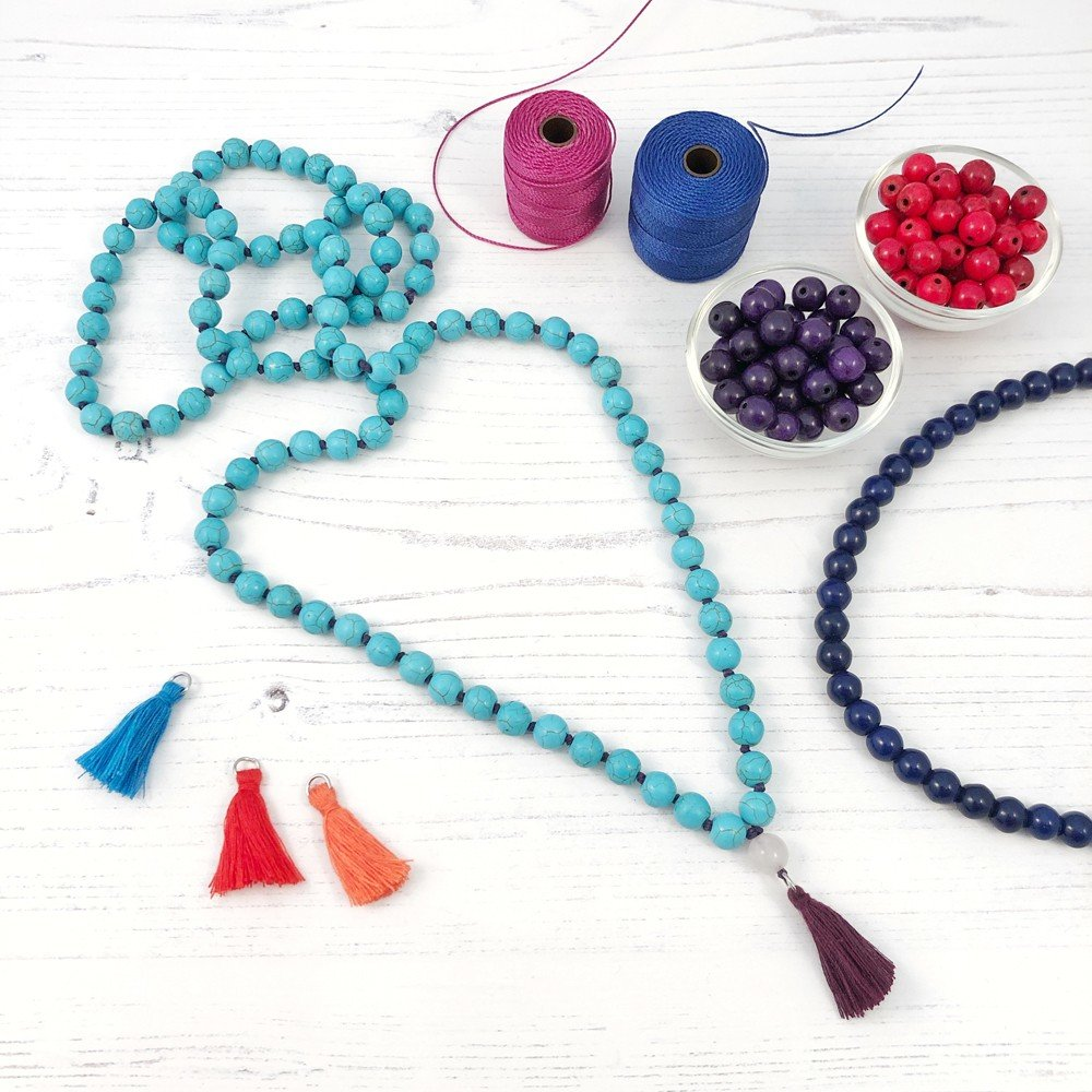 make your own mala necklace