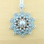 Mandala Pendant Necklace Kit - Ice