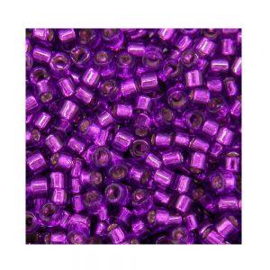 Miyuki Delica Size 11 DB1345 Silver Lined Bright Violet