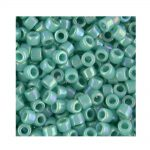 Miyuki Delica Size 11 DB166 Opaque Turquoise AB