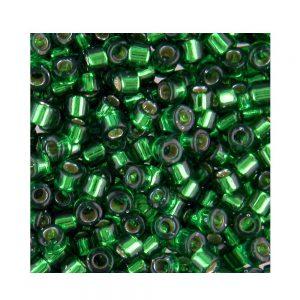 Miyuki Delica Size 11 DB605 Silver Lined Emerald