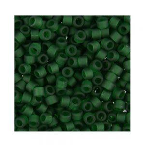 Miyuki Delica Size 11 DB767 Matte Transparent Emerald