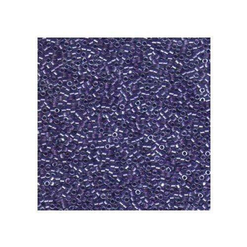 Miyuki Delica Size 11 DB906 Sparkling Purple Lined