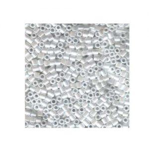 Miyuki Delica Size 8 DBL201 Pearl White