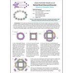Netted Rivoli Diamond Bracelet - Pattern