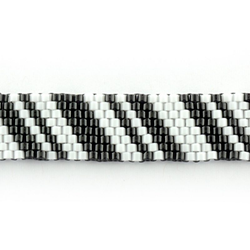 Black and White Zebra Peyote Kit