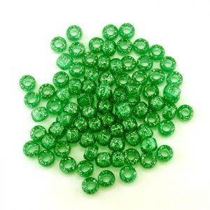 sparkle plastic pony beads