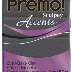 Premo! Sculpey Accents Graphite Pearl