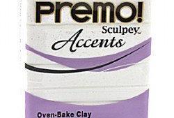 Premo! Sculpey Accents Frost White Glitter