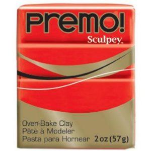 Premo! Sculpey Cadmium Red Hue