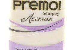 Premo! Sculpey Accents White Translucent