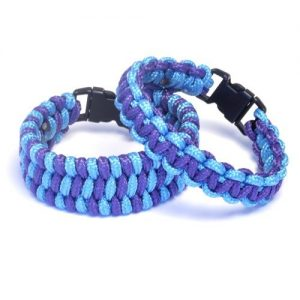 Paracord Bracelets Kit Purple and Turquoise