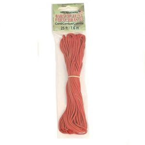 Paracord 95 Red 7.6m