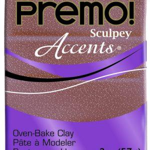 Premo! Sculpey Accents Rose Gold Glitter