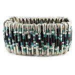 Safety Pin Bracelet Kit Teal