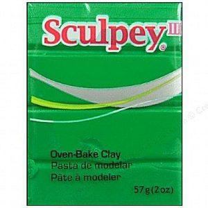 Sculpey III Emerald