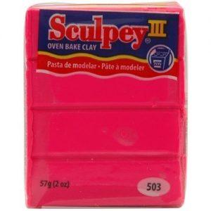 Sculpey III Hot Pink