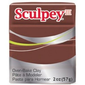 Sculpey III Chocolate