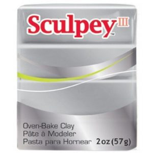 Sculpey III Silver
