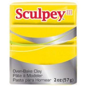 Sculpey III Yellow