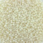 Size 13 pearl ivory seed beads