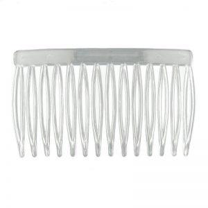 Haircomb Small Clear Plastic
