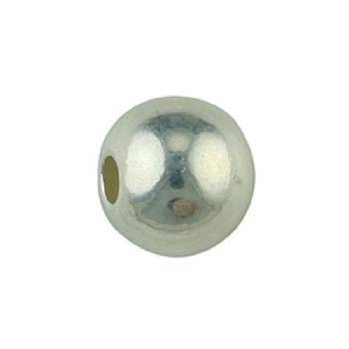 2mm Sterling Silver Spacer Bead