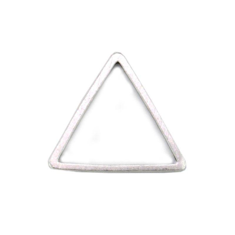 Triangle Connector Antique Silver