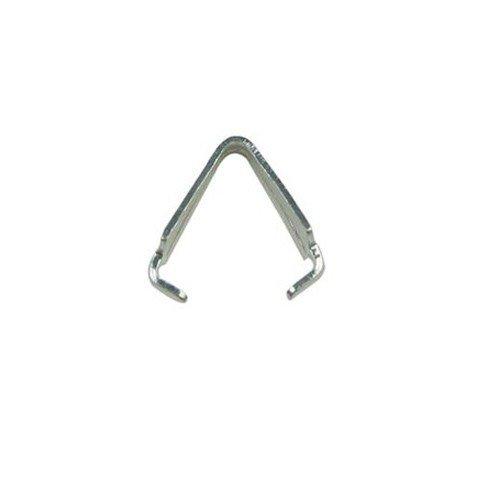 Triangular Claws Silver Plated